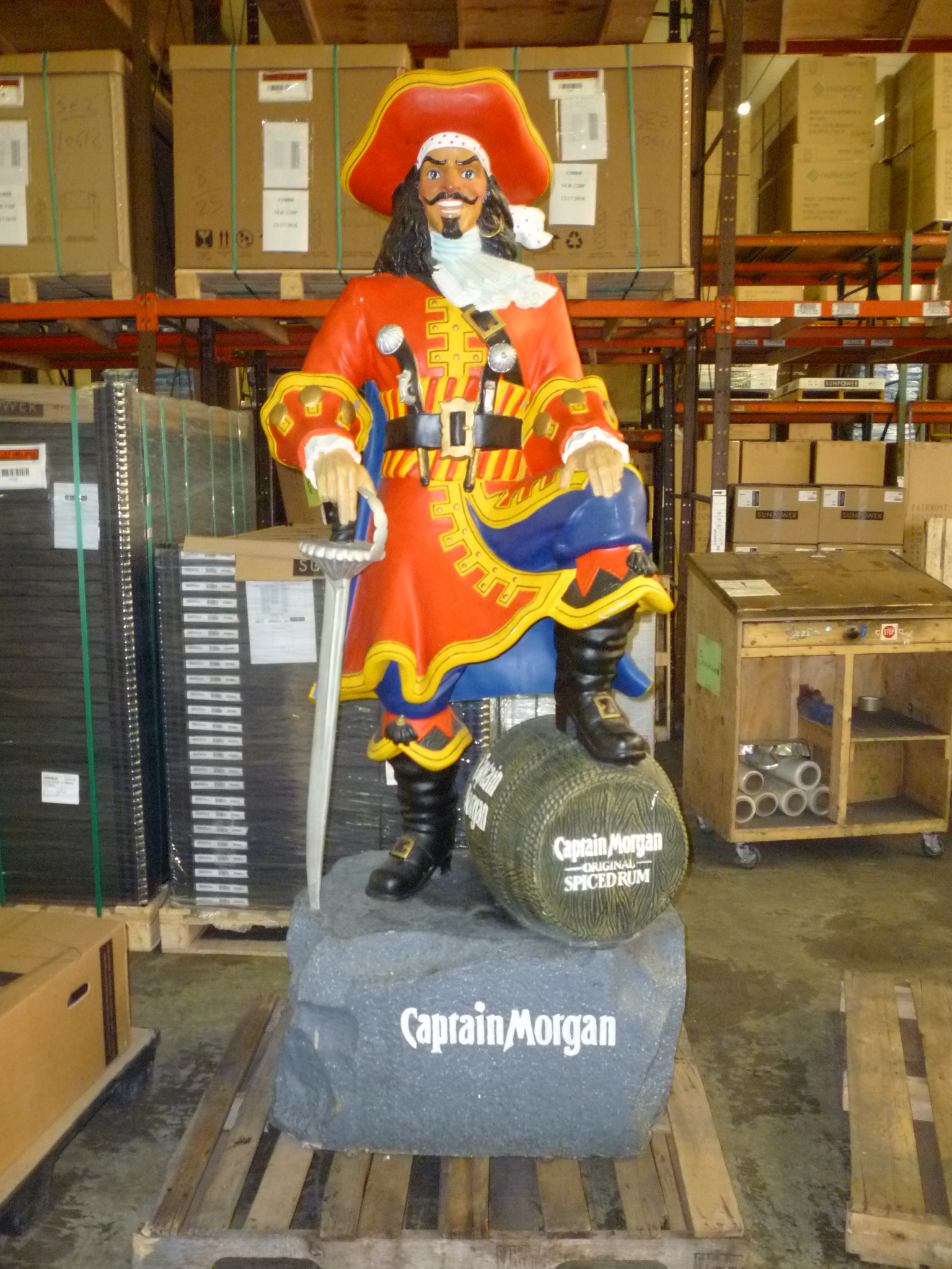 Captain Morgan Advertising Statue 171 Obnoxious Antiques