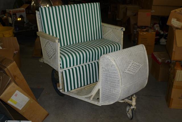 atlantic city boardwalk wicker rolling chair obnoxious antiques