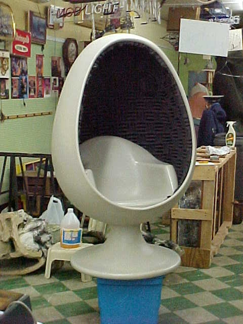 1960 S Modern Egg Chair 171 Obnoxious Antiques