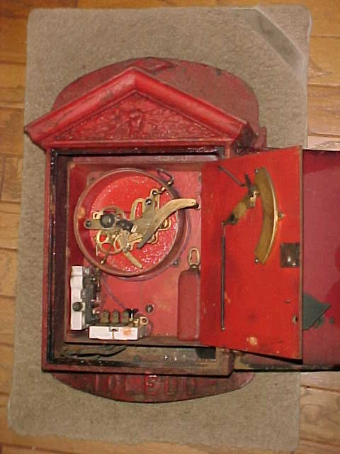 Cast Iron Paint >> Early NYC Corner Gamewell Fire Alarm Box « Obnoxious Antiques