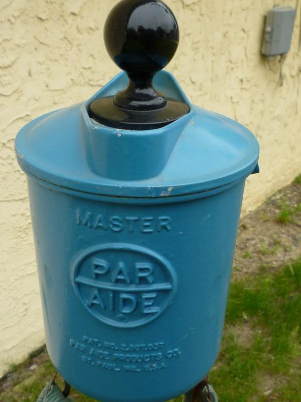 vintage par aide golf ball washer  u0026 shoe cleaner