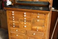 Antique Oak Dentist Cabinet Obnoxious Antiques