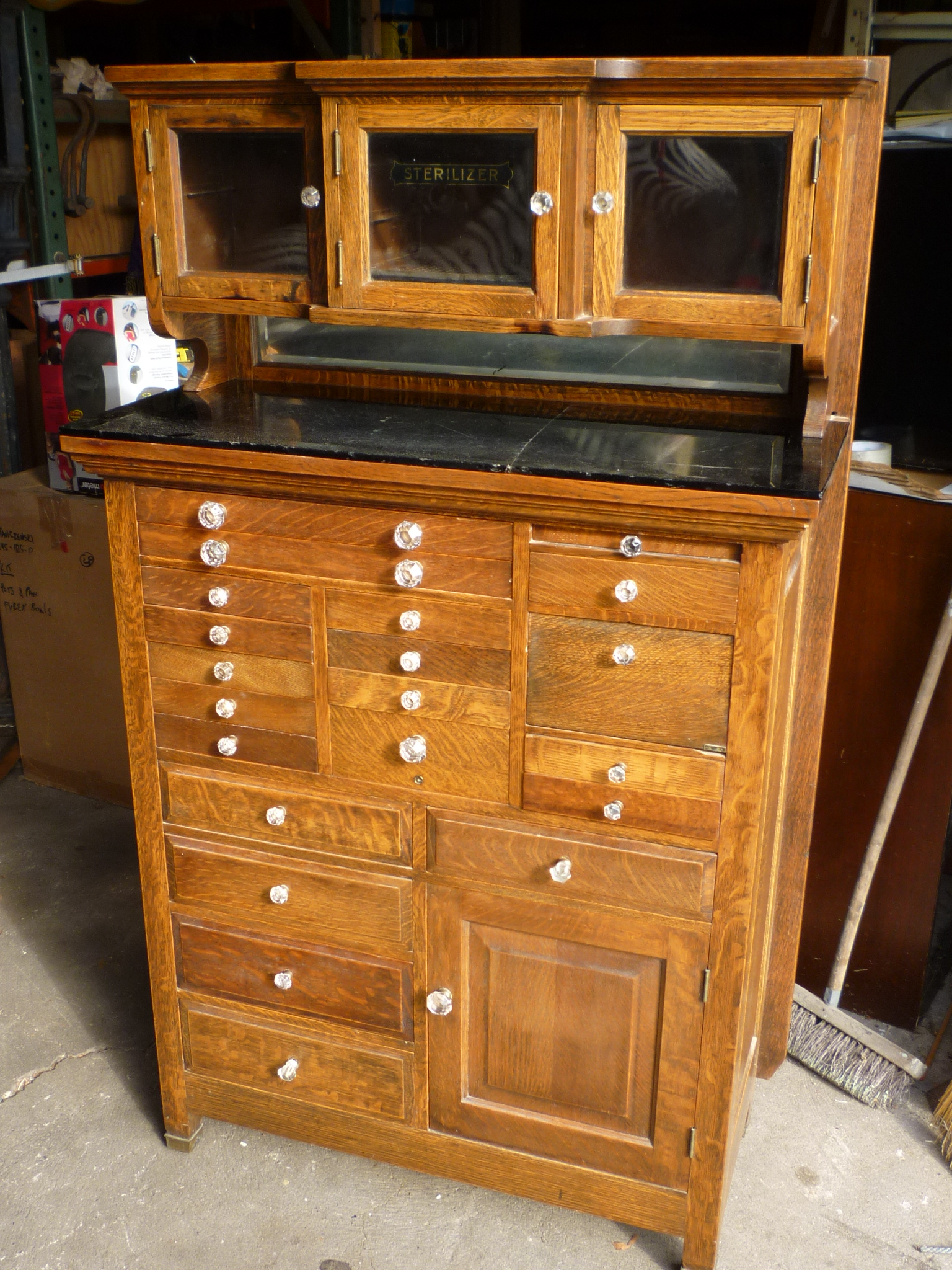 Antique Oak Dentist Cabinet - Antique Oak Dentist Cabinet « Obnoxious Antiques