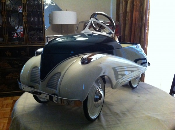 1939 Lincoln Pedal Car By Steelcraft Obnoxious Antiques