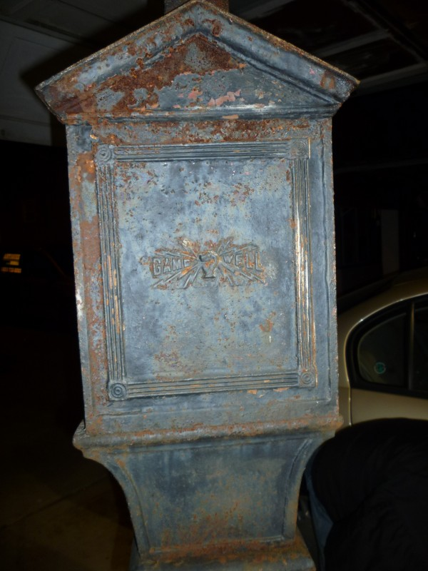 Antique Gamewell Corner Fire Call Box 171 Obnoxious Antiques