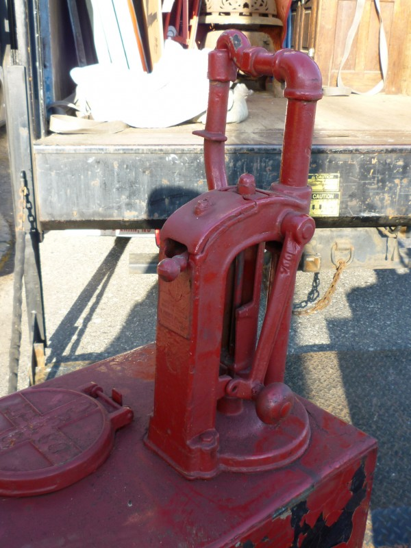 Find A Gas Station >> Antique Gas Station Oil Pumps « Obnoxious Antiques