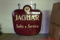 jaguar service sign