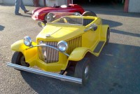 yellow car 2