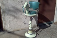 childs barber chair