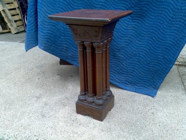 Entry Foyer Pedestal Table : S church entryway pedestal table « obnoxious antiques