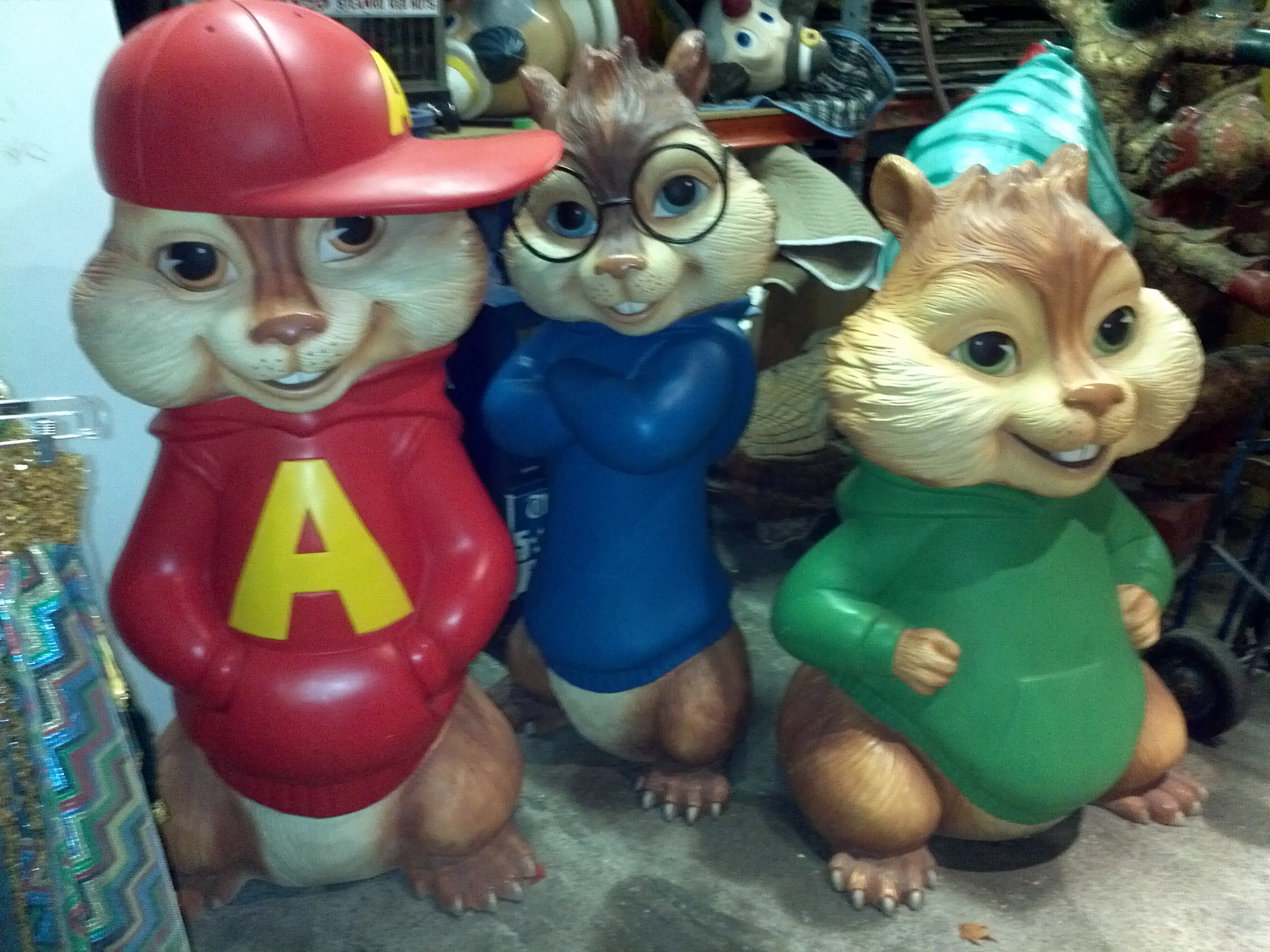 alvin and the chipmunks theater lobby display « obnoxious antiques