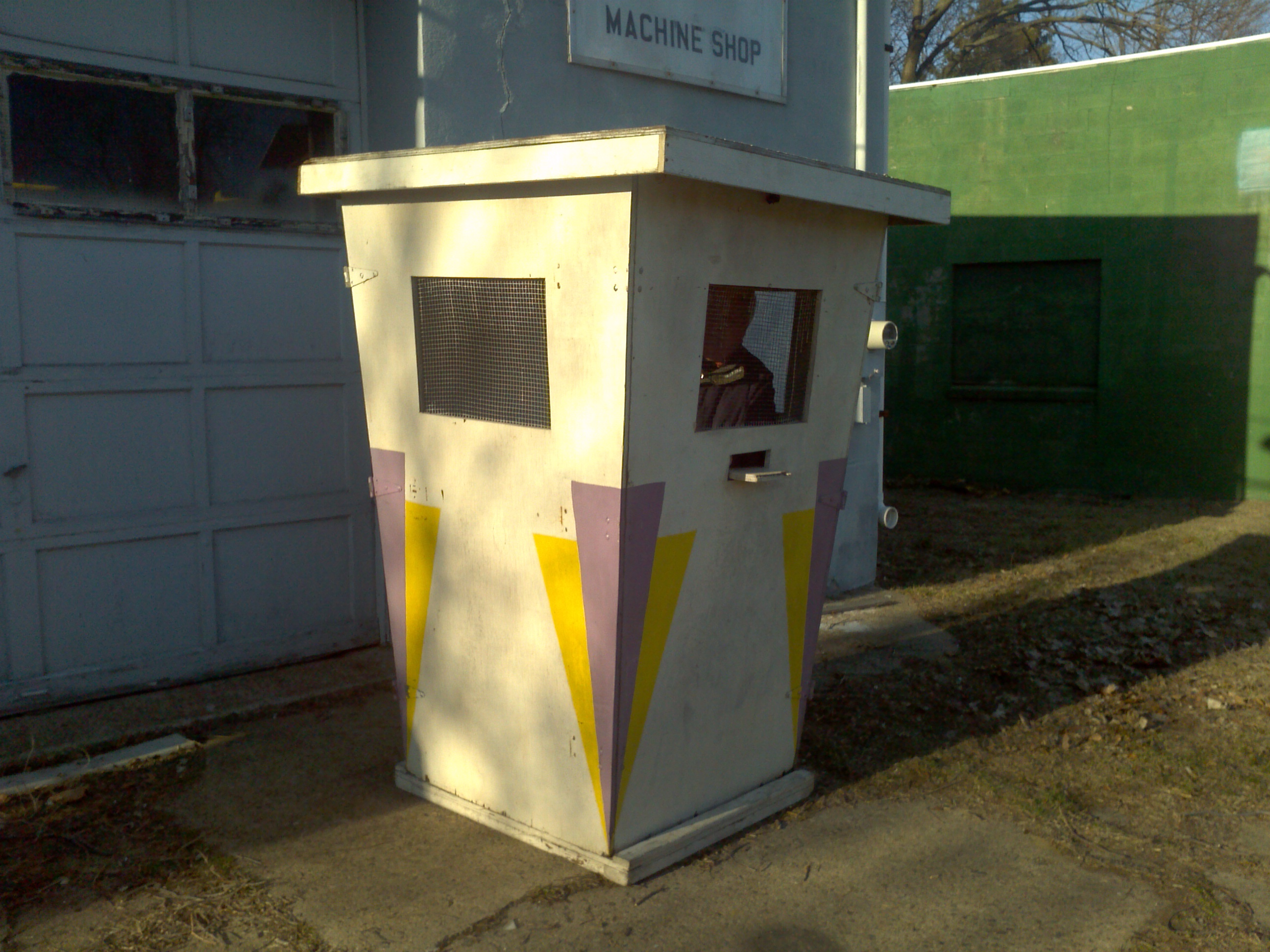 Vintage Amusement Park Ticket Booth 171 Obnoxious Antiques