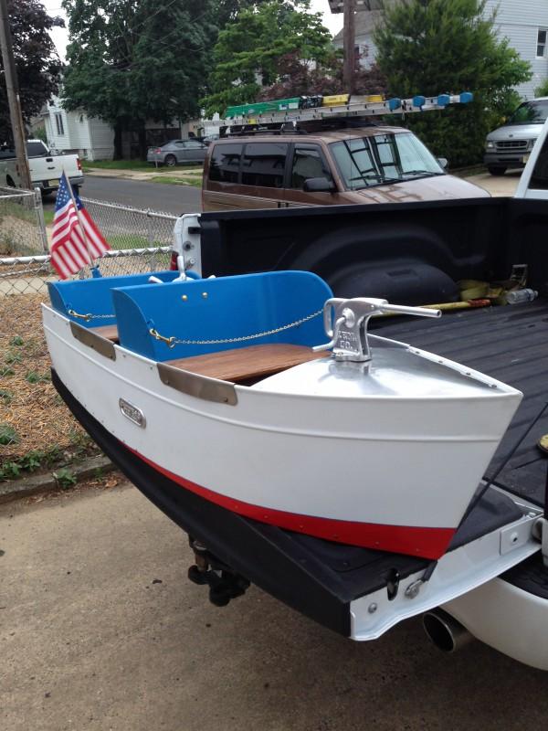 Mangels Amusement Park Kiddie Ride Boat 171 Obnoxious Antiques