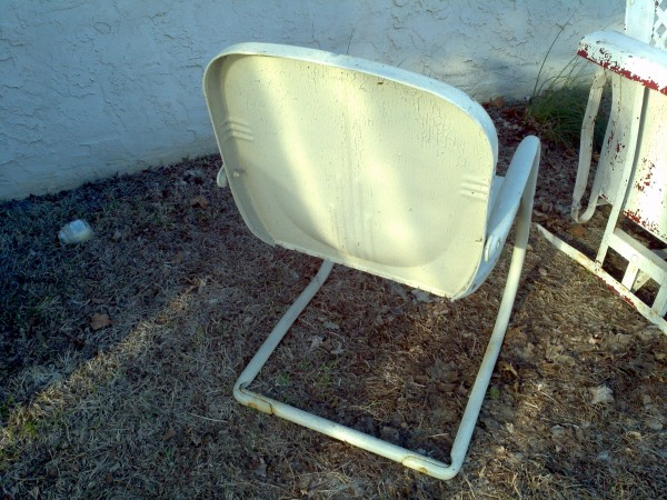 Mid Century Metal Outdoor Furniture Obnoxious Antiques