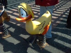 spring ride duck