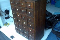 oak cabinet small 2