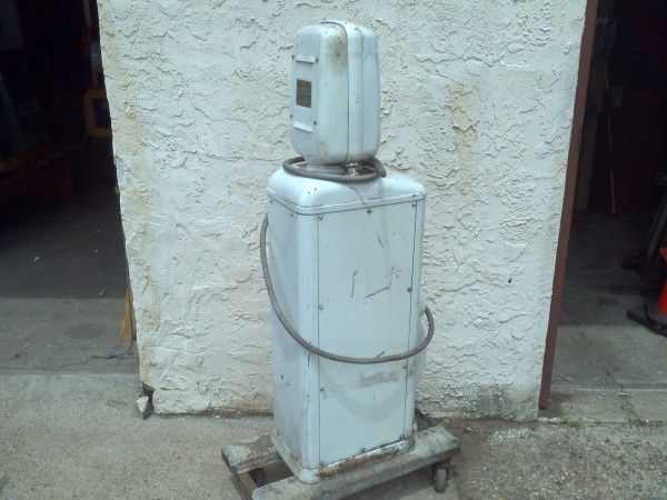 Eco Air Meter : Vintage gas station eco island air meter « obnoxious antiques