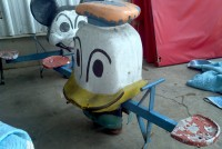 donald duck spring ride 2