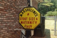 Arrow sign Stout Size & Maternity 4