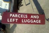 luggage sign