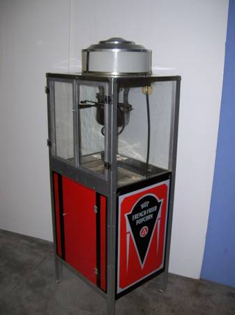 Antique French Fried Popcorn Machine 171 Obnoxious Antiques