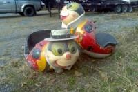 carnival ride lady bug