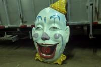 clown face amusement park 1