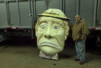 clown face amusement park emett kelly 1