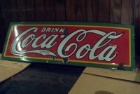 coke porcelain  sign 5