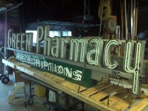 drug pharmacy  neon 12