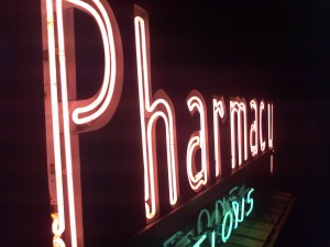 drug pharmacy  neon 14