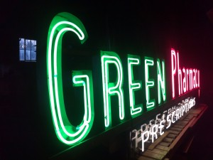 drug pharmacy  neon 5