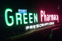 drug pharmacy  neon 7