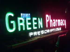 drug pharmacy  neon 7