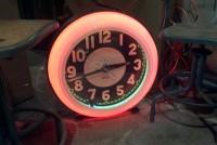 neon cleveland clock 2
