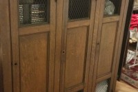Locker Wood Antique