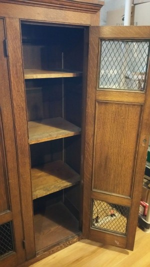 Locker Wood Antique 4
