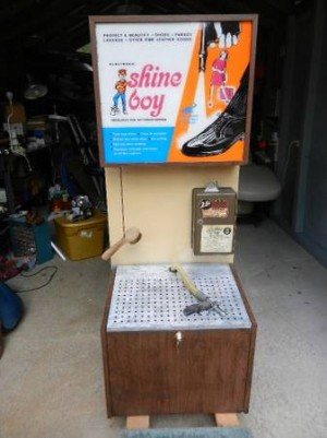shoe shine machine