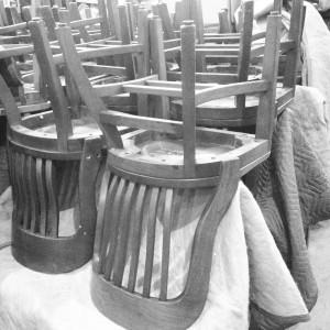 chair black & white