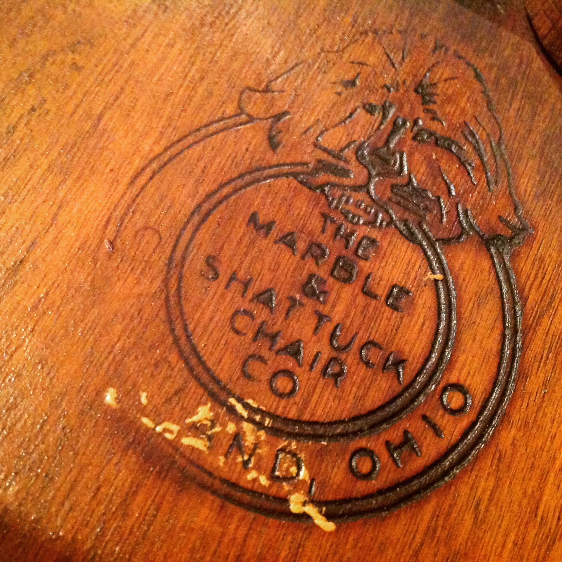 chair court 1 ...  sc 1 st  Obnoxious Antiques & Marble and Shattuck Courtroom Bankeru0027s Chair « Obnoxious Antiques