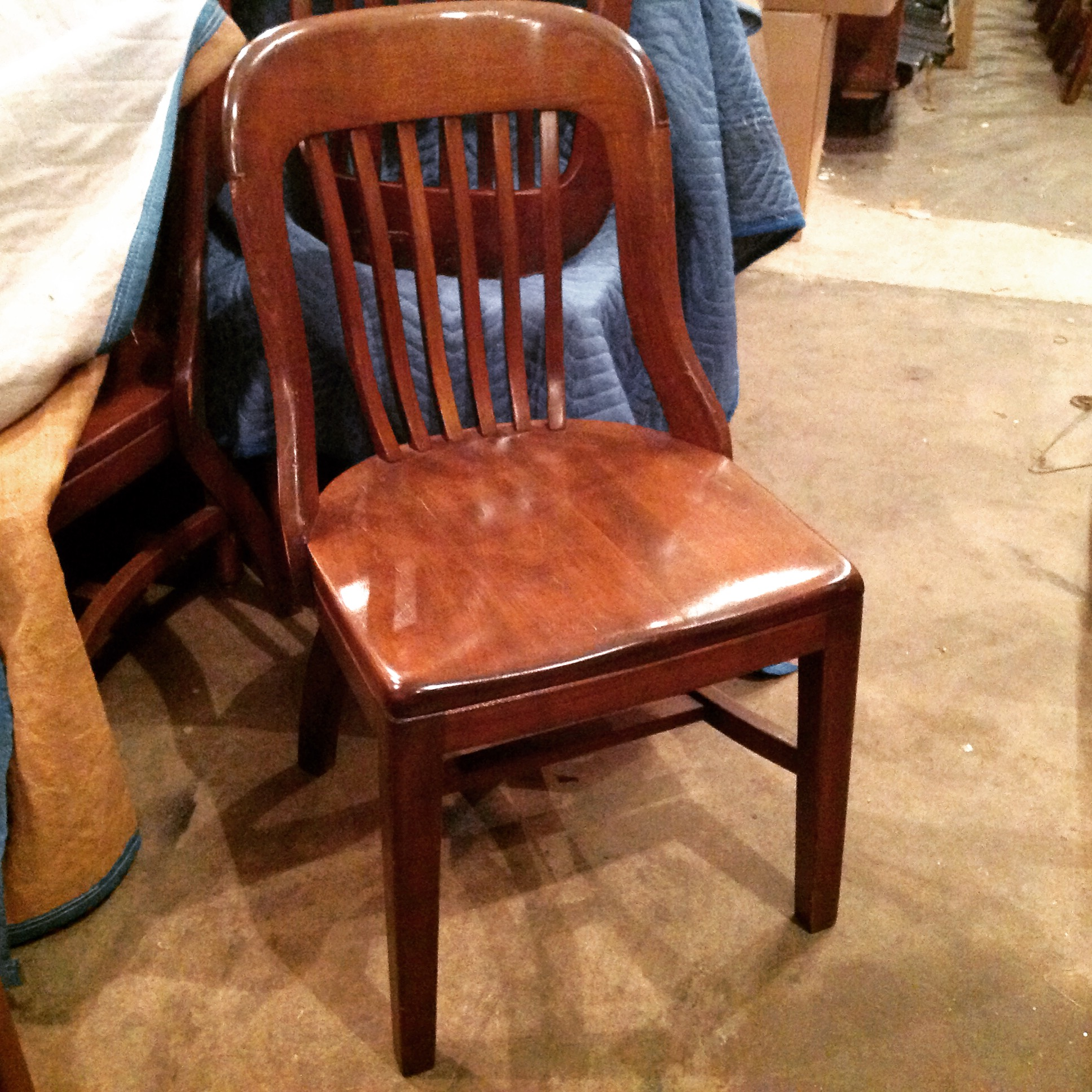 Marble and Shattuck Courtroom Banker s Chair Obnoxious Antiques