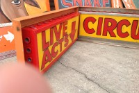 sideshow circus alive animated signs 3