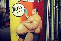 sideshow panel fat man