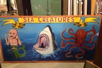 sideshow panel sea creatures