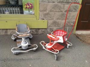 stroller pair