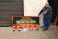 basket ball sign
