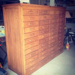 cabinet oak file 1
