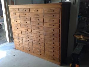 cabinet oak file 6