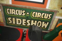circus sideshow panel
