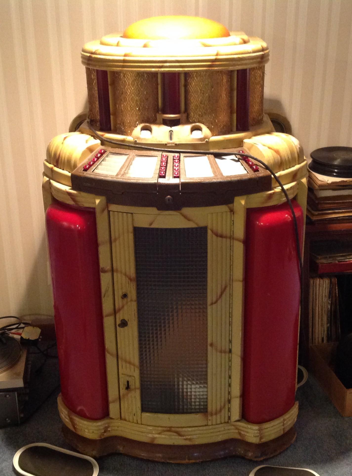 jukebox seeburg  8800   12